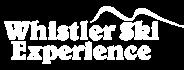 Logotipo Whistler Ski Experience blanco